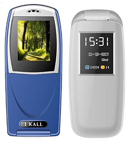 IKALL 18 inch Flip Mobile Combo of K3312 and K19 Grey and B