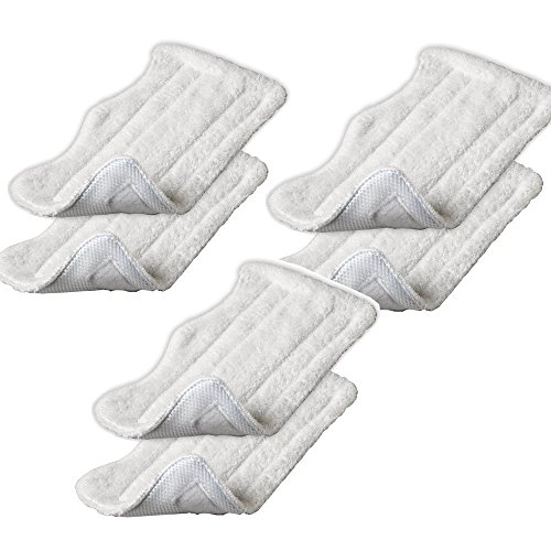 Amariver Microfiber Replacement Pads for Shark Steam Euro-Pro ...