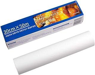 lijun Papier de Cuisson antiadhésif réutilisable en Aluminium étain à l'épreuve de l'huile Four pâtisserie Tapis de Cuisso...
