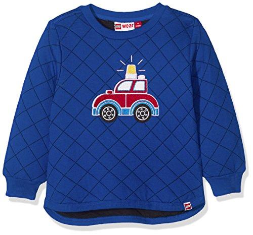 Lego Wear Duplo SOFUS 702 - Sweatshirt Sweat-Shirt Bébé garçon Bleu (Dark Blue) 18-24 Mois (Taille Fabricant: 86) Lot de