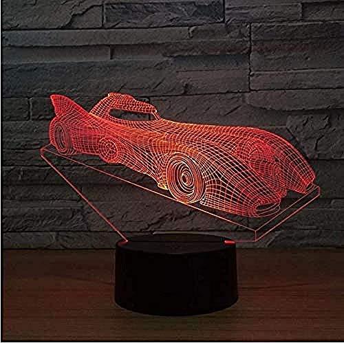 3D illusie LED race car model USB LED Night Lamp 7 kleuren tafellamp knipperlicht als geschenk nieuwe verlichting en kamerdecoratie
