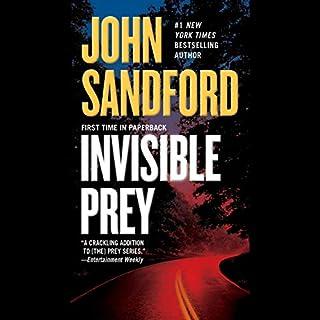 Invisible Prey audiobook cover art