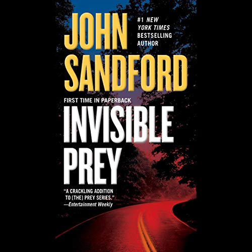 Invisible Prey audiobook cover art