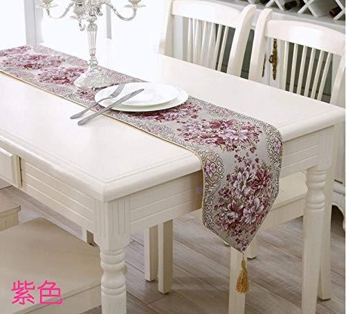 Branfan Fashion tafellopers Europese tafelkleed moderne minimalistische landelijke Chinese salontafel doek doek 28 * 210CM_2