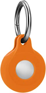 Svacoco Silicone Case for AirTag with Keychain,...