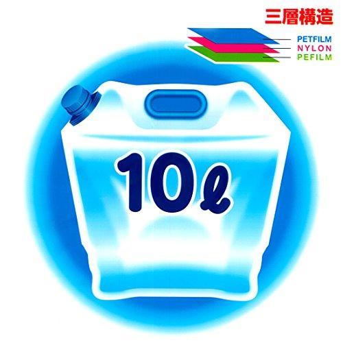 水タンク折りたたみ式10Lソフトタイプ水缶PW-10