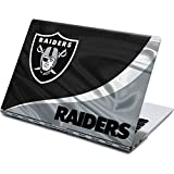 Skinit Decal Laptop Skin Compatible with Yoga 910 2-in-1 14in Touch-Screen - Officially Licensed NFL Las Vegas Raiders Design
