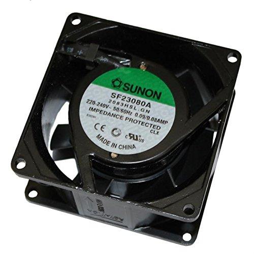 Fan/Ventilador 230V 18W 80x80x38mm 39m³/h 31dBA ; Sunon SF23080A2083HSL