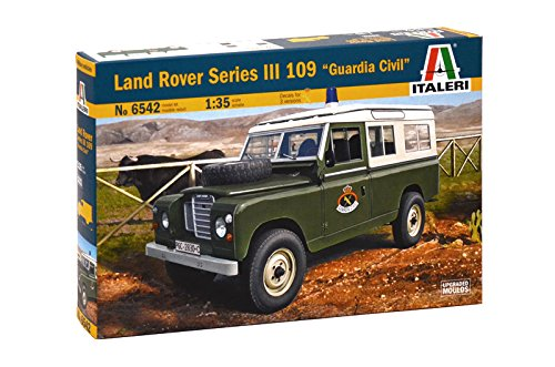 Italeri 510006542 - Maqueta de Land Rover de Guardia Civil (Escala 1:35)