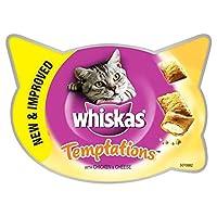Whiskas Temptations Cat Treats Chicken 60g (PACK OF 6) 60g (x6) Whiskas Quantity: 6