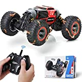 Steamprime Remote Control Car Rc Car,2.4 GHz Fast Speedy Rc Drift Race Car with Rechargeable Batteries,Rock Crawler Truck Monster Vehicles Buggy Hobby Car Toy Gifts for Boys Kids Girls Adults-Blue
