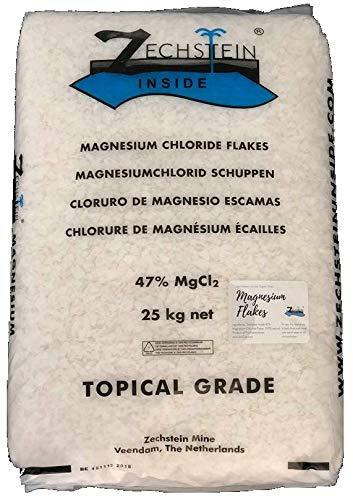 Zechstein Inside Magnesium Flakes 25kg - Bulk Natural Magnesium Chloride for Bath