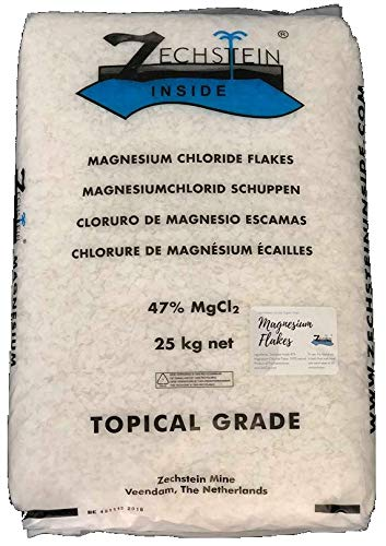 Zechstein Inside Magnesium Flakes 25kg - Bulk Natural Magnesium Chloride for Bath