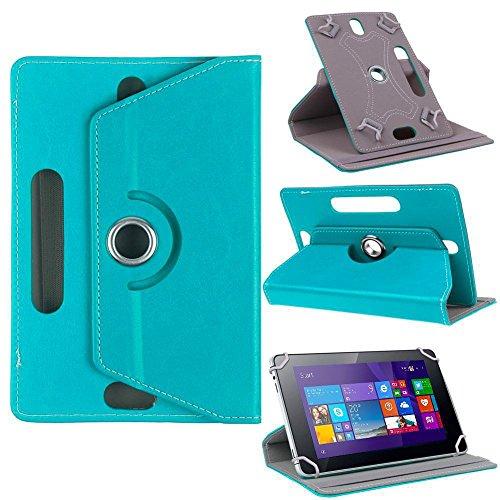 Nauci Odys Score Plus 3G Tablet Schutz Tasche Hülle Hülle Cover Schutzhülle Bag, Farben:Türkis