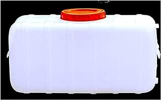 GMSX Tanque De Agua con Grifo Contenedor De Almacenamiento De Agua De Pl/ástico Grueso Cubo De Agua Port/átil Al Aire Libre Barril De Vino Barril Qu/ímico Industrial 25-150L Blanco