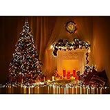Accesorios de Fondo de fotografía de Vinilo Cortina de Tema de Navidad Accesorios de Fondo de fotografía de Estudio A18 10x7ft / 3x2,2 m