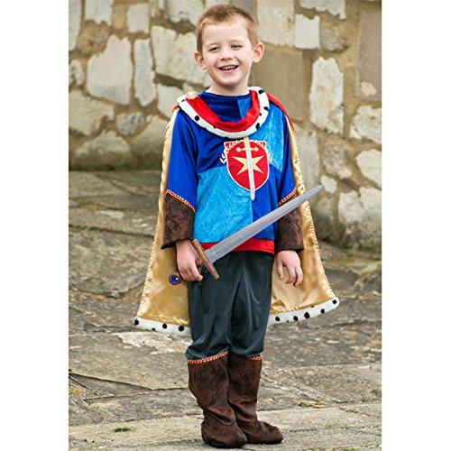 amscan- Costume de Prince pour Enfant de 6 à 8 Ans – 2 pièces, PRN6, Multicolore, 6-8