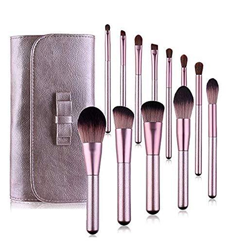 LETGO Professionelles Make-up-Pinsel-Set., Violett (violett), Einheitsgröße