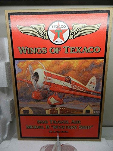 Wings of Texaco 1930 Travel Air Model R 'Mystery Ship' Die Cast Model/Coin Bank - 5th in the Series