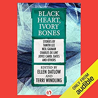 Black Heart, Ivory Bones audiobook cover art
