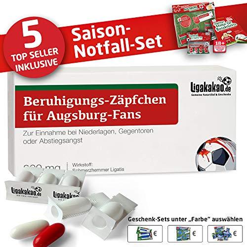 Alles für Augsburg-Fans by Ligakakao.de Kaffee-Becher ist jetzt das GROßE Saison Notfall Set