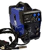 MIG 140A IGBT Inverter DC Welder 2-in-1 MMA Gas GASLESS Wire ARC Welding