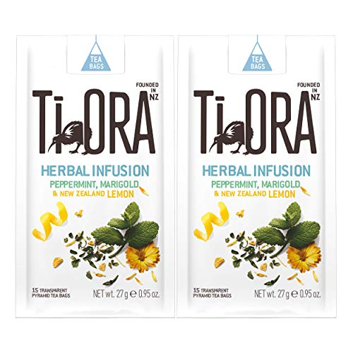 Ti Ora Herbal Infusion Peppermint Marigold, Kräutertee, Kräuter Tee, 30 Teebeutel, á 1.8 g