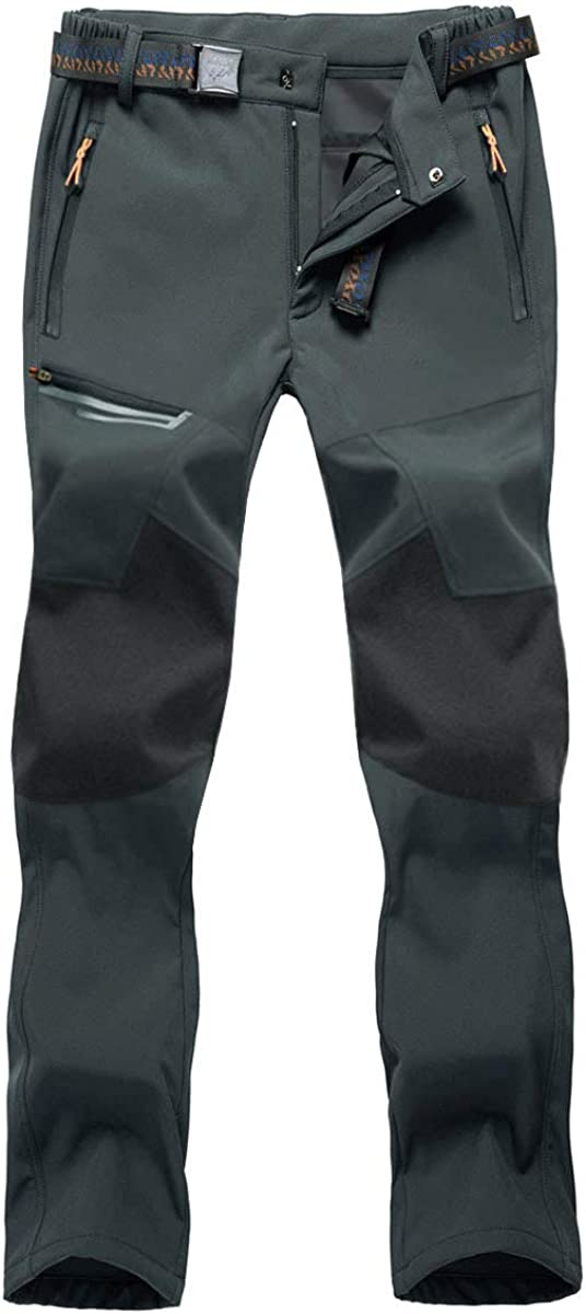 Large-scale sale BIYLACLESEN Men's Outdoor Hiking Pants Zipper Pockets online shop
