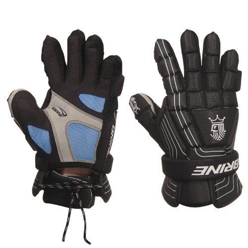 Brine King Superlight Lacrosse Goalie Glove (13-Inch, Black)