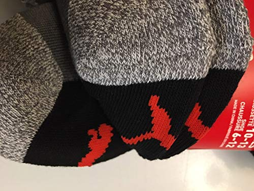 Puma Men's No show Sport Socks, Moisture Control, Arch Support (8 Pair)
