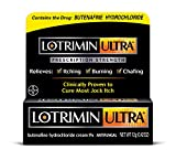 Lotrimin Ultra Antifungal Jock Itch Cream, Prescription Strength Butenafine Hydrochloride 1% Treatment, Clinically Proven to Cure Most Jock Itch, Cream, 0.42 Ounce (12 Grams)