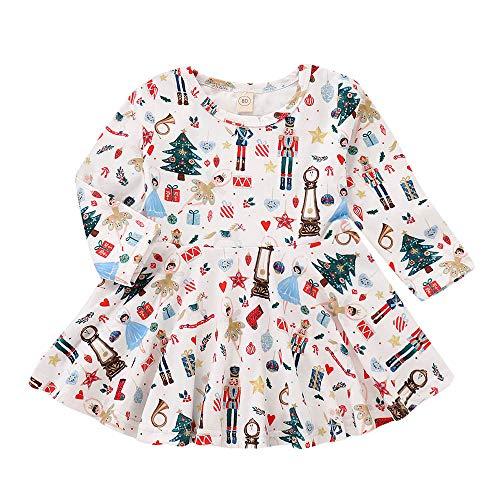 POLP niño Navidad Ropa niñas Unisex Pijama Bebe Navidad Regalo Estampado de...