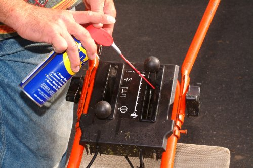 WD-40 Multifunktionsspray, Kontakt-, Teflon-Schmiermittel, Fahrrad-, Bike-, Auto-, Ketten-, Motorrad-Spray, 450-Ml Sprühdose, Smart-Straw, Blau - 6