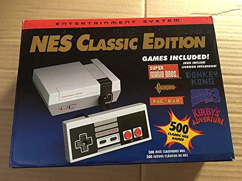 Classic Retro Mini Game Console Entertainment System NES Classic Edition Mini Game Console with 500 Video Games