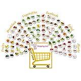 96PCS Kühlschrankmagnete Lebensmittel Magnete Mamas Küche Lustig Geschenk Obst Gemüse Frühstück...