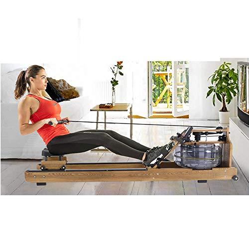 BLH Rudergerät - Magnetische Rudergerät - Rudertrainingsmaschine für Fitnessstudio oder Home Use - Maßnahmen Zeit, Distanz, Stride, Kalorien verbrannt - Rudergerät Cardio Workout für Fitness