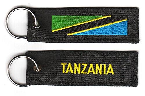 Schlüsselanhänger Tansania Anhänger Fahne Flagge FLAGGENMAE®