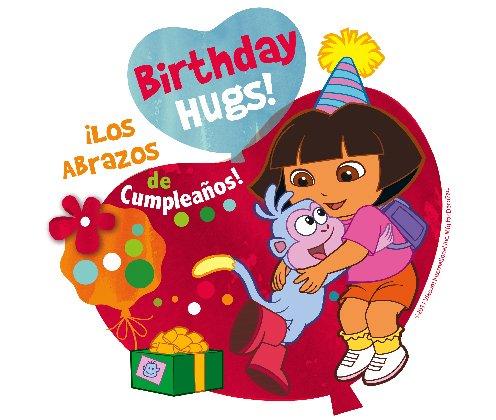 Dora the Explorer Birthday Edible Cupcake Toppers Decoration