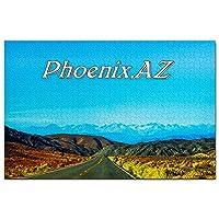 アメリカアメリカアリゾナフェニックスジグソーパズル1000ピースゲームアートワーク旅行お土産木製