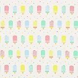 Fabulous Fabrics Canvas Pastell EIS am Stiel — Meterware