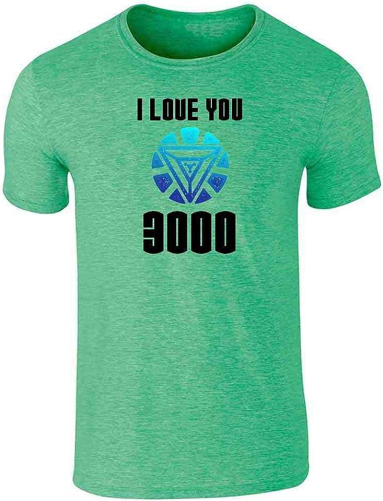 I Love You 3000 Gift for Dad Superhero Heather Irish Green 3XL Graphic Tee T-Shirt for Men