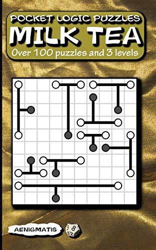 Pocket Logic Puzzles Milk Tea: Over 100 puzzles and 3 levels