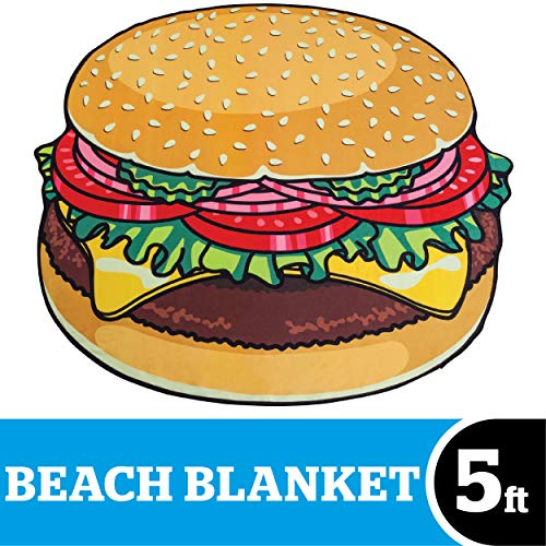 BigMouth INC. Badetuch Hamburger.