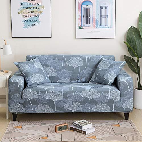 Fundas de sofá suaves y cómodas para sala de estar, sofá elástico, fundas de sofá de esquina, A17, 2 plazas