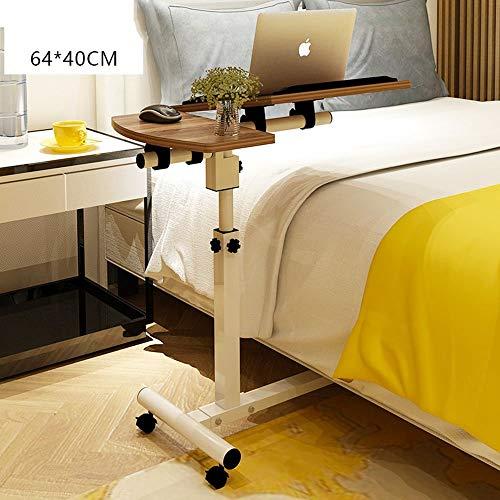 Heim-Beistelltische Einfacher Laptop-Schreibtisch Einfacher Desktop-Heimarbeitstisch Abnehmbarer Lift-Nachttisch, BOSS LV, e