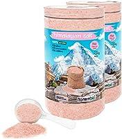 Nortembio Cristales Rosas del Himalaya 2 x 1,5 Kg. Extrafinos (0,5-1 mm). Sales de Baño 100% Naturales.