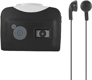 Docooler ezcap230 La Cinta de Cassette-a-MP3 Convertidor Guardar en USB Disco Flash Automático Autónomo de Reparto Grabadora w/Auriculares Negro