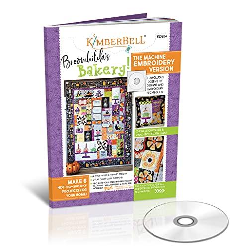 Kimberbell Designs: BROOMHILDAs Bakery Embroidery CD & Book KD804