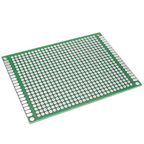 BeMatik - Placa PCB de Prototipo de Circuito Impreso de Soldadura de Doble Cara 6x8cm