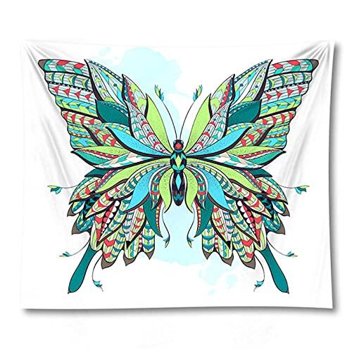 Tapiz by BD-Boombdl Tapiz colgante de pared Insecto Mariposa Abeja Decoración del hogar Estera de yoga Estera para dormir 59.05'x78.74'Inch(150x200 Cm)